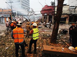 Explosão em São Cristóvão