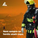 homenagem Sprink bombeiro militar
