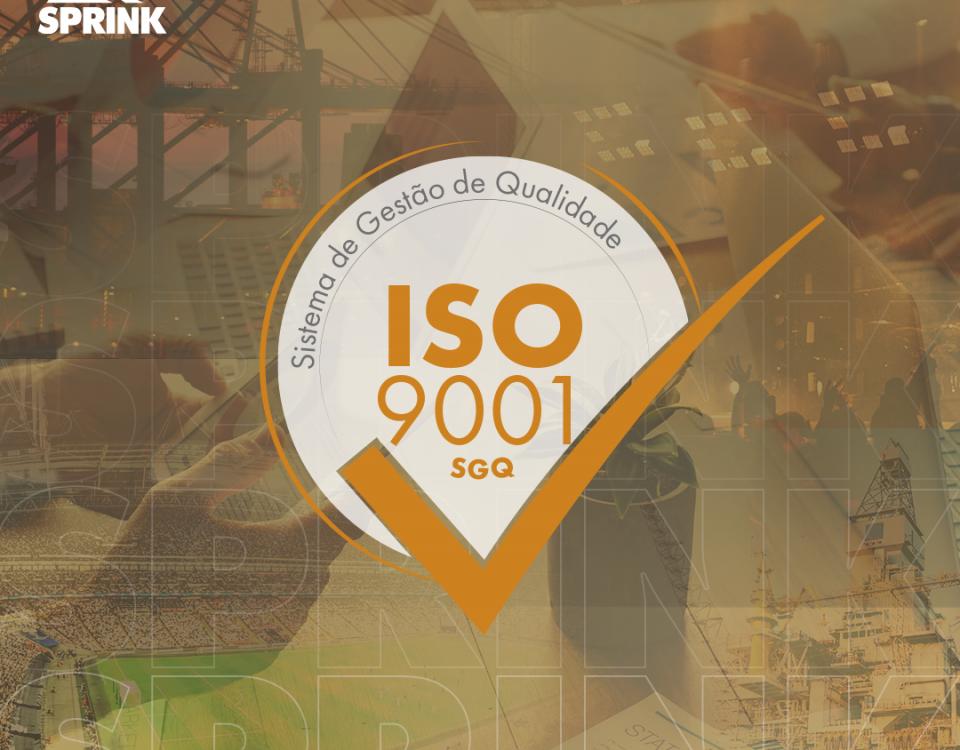 Certificação selo ISO 9001